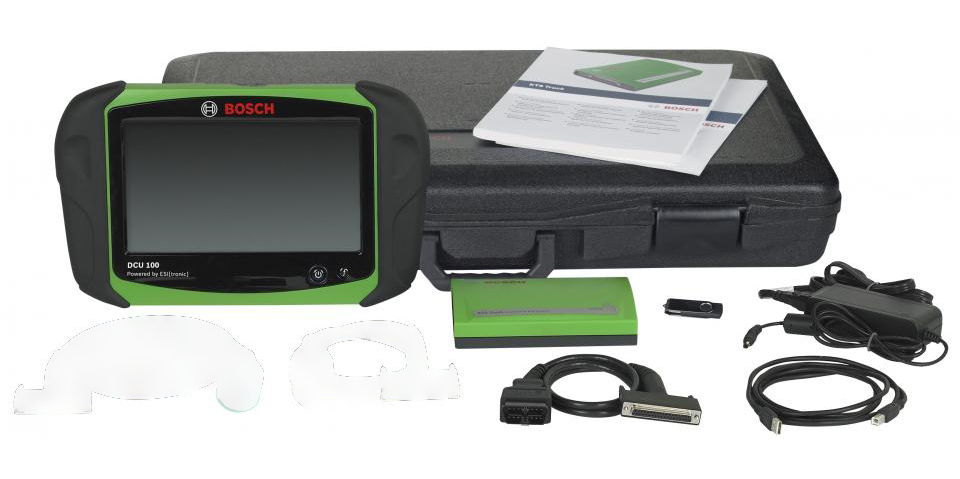 Bosch KTS Truck DCU100 Tablet Kit